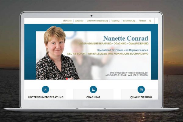 Unternehmensberatung Nanette Conrad